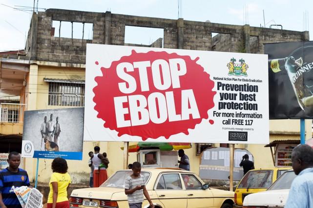 Juste avant ces nouveaux cas, la Sierra Leone... (PHOTO FRANCISCO LEONG, ARCHIVES AFP)