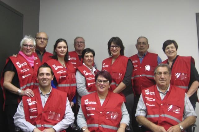 Les membres du comité organisateur d'Opération Nez Rouge...