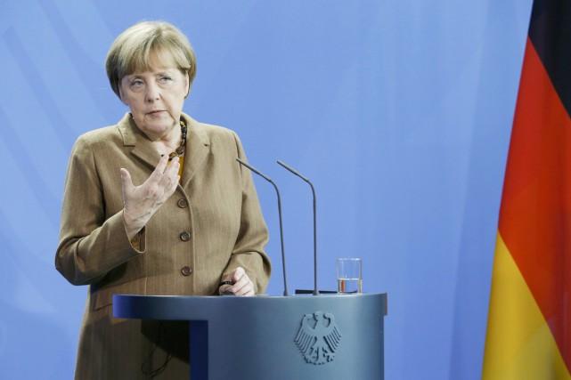 Angela Merkel a évoqué la possibilité d'élargir la... (Photo: archives Reuters)