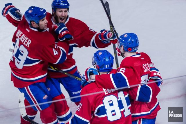 Tout indique que les trios du Canadien demeureront... (Photo Edouard Plante-Fréchette, La Presse)
