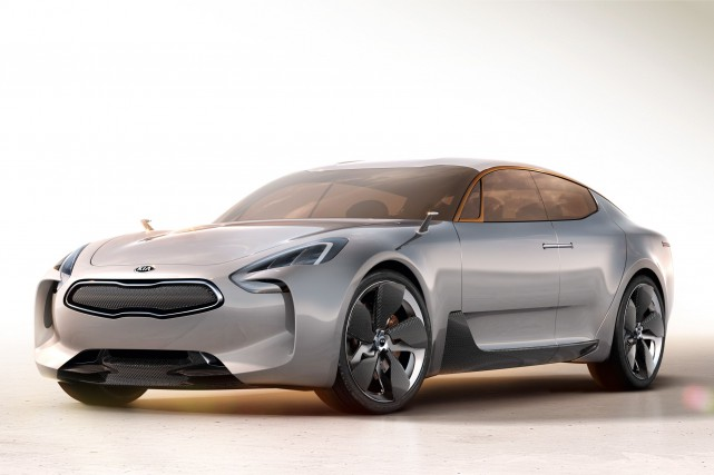 La Kia concept GT... (Photo fournie par Kia)