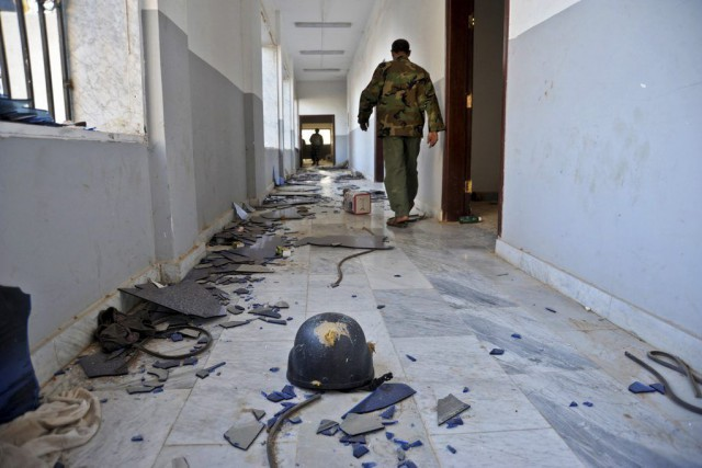 La Libye est plongée dans le chaos à... (Photo Mohammed El-Sheikhy, AP)