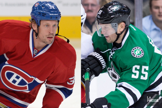 Travis Moen et Sergei Gonchar... (Photos La Presse et AP)