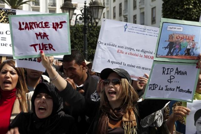 Cette histoire rappelle celle de la jeune Amina... (PHOTO ARCHIVES AFP)