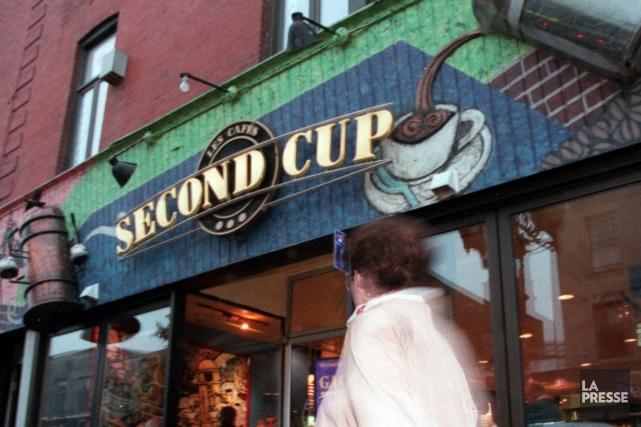 La chaîne de cafés Second Cup (T.SCU) a augmenté la taille... (PHOTO ROBERT SKINNER, ARCHIVES LA PRESSE)