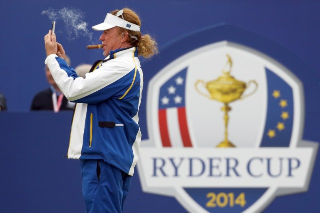 Miguel Angel Jimenez... (Photo Scott Heppell, AP)