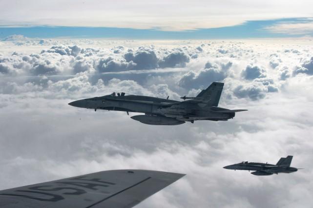 L'armée canadienne assure qu'aucun civil n'a été tué par ses tirs aériens... (Photo archives PC/Armée canadienne)