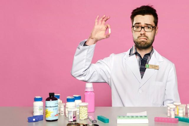 Bernard Olivier, alias Le Pharmacien, déboulonne de nombreux... (Photo fournie par Le Pharmacien)