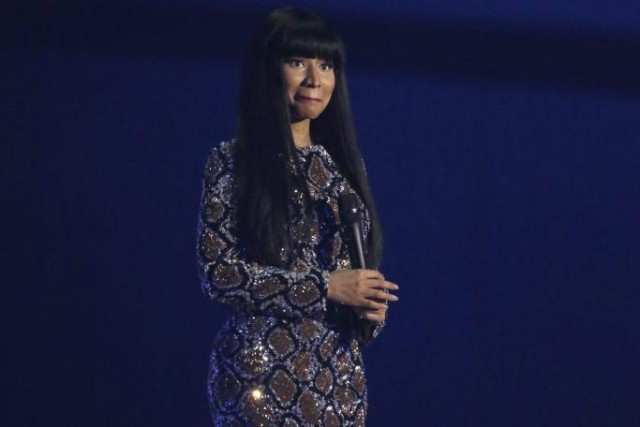 Nicki Minaj aux MTV European Music Awards le... (Photo: archives AP)