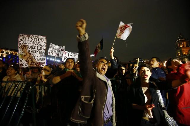 Depuis la disparition de 43 étudiants en septembre,... (Photo Edgard Garrido, archives Reuters)