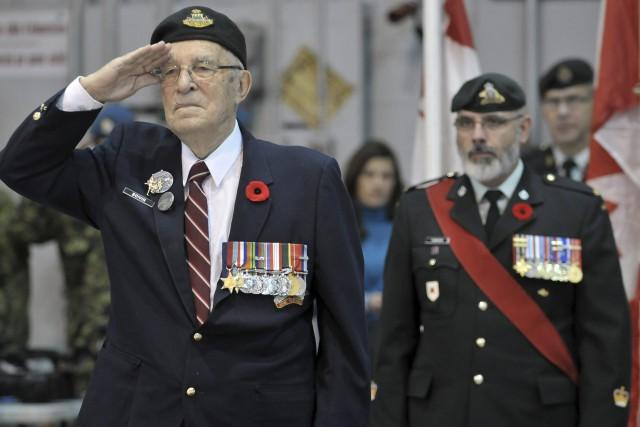 Le lieutenant-colonel à la retraite Adrien Boivin était... ((Photo Rocket Lavoie))