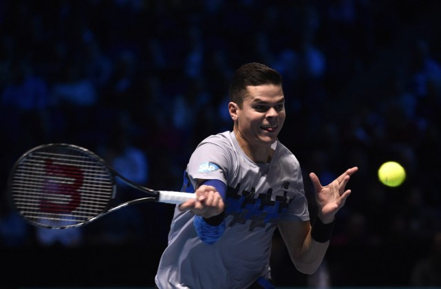 Milos Raonic... (Photo: Reuters)