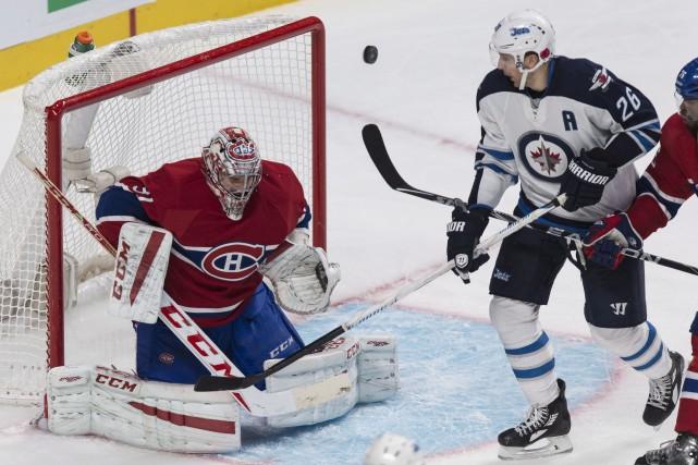 Carey Price a stoppé les 29 tirs des... (La Presse Canadienne)