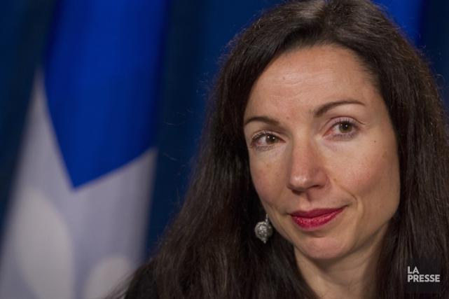 La députée péquiste Martine Ouellet croit que son collègue Pierre Karl Péladeau... (PHOTO IVANOH DEMERS, ARCHIVES LA PRESSE)