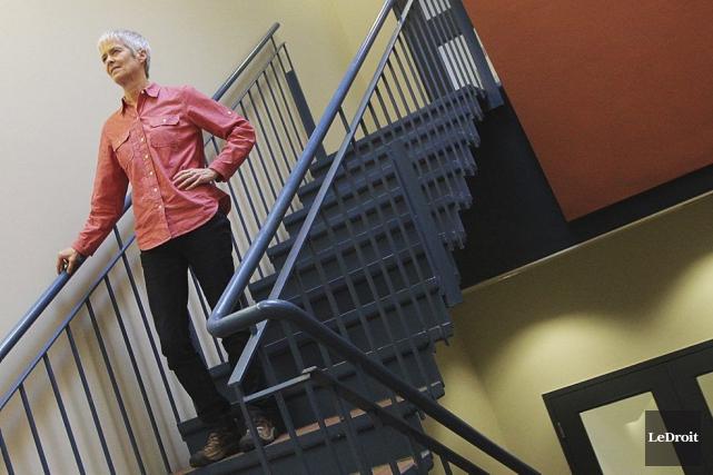 Céline Gauthier est responsable desprogrammesde deuxième cycle en... (PHOTO ÉTIENNE RANGER, LE DROIT)