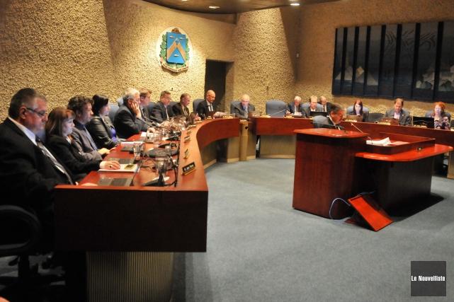Le conseil municipal de Trois-Rivières devra de nouveau... (Photo: Émilie O'Connor Le Nouvelliste)