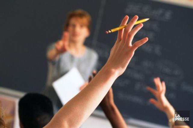 L'augmentation du nombre d'élèves par classe coûtera cher... (Photo Thinkstock)