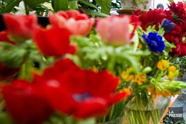 L'homme est entré par effraction chez un fleuriste... (Photo archives La Presse)