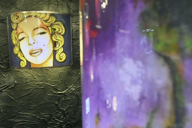 Le Salon des métiers d'art qui se déroule présentement à l'hôtel le Montagnais... (Michel Tremblay)