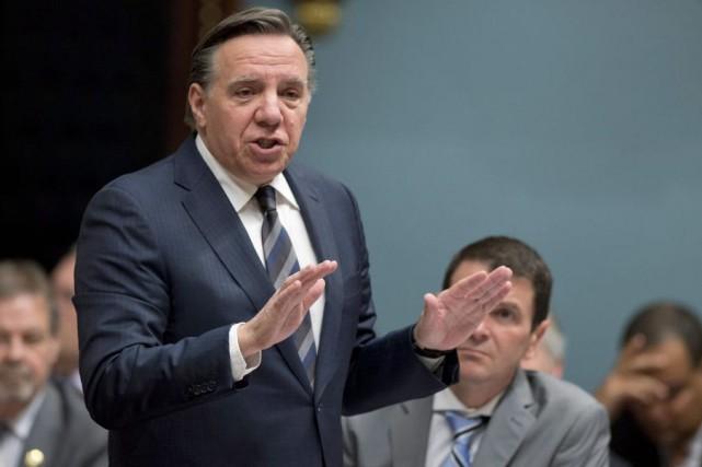 La CAQ de François Legault déposera une motion... (La Presse Canadienne, Jacques Boissinot)