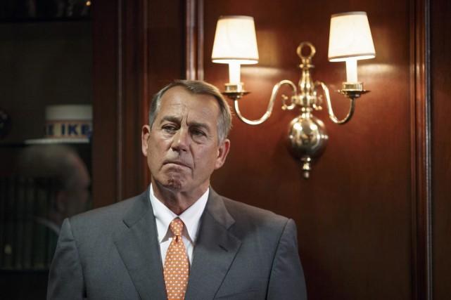 Le président de la Chambre des représentants, le... (PHOTO J. SCOTT APPLEWHITE, ARCHIVES AP)