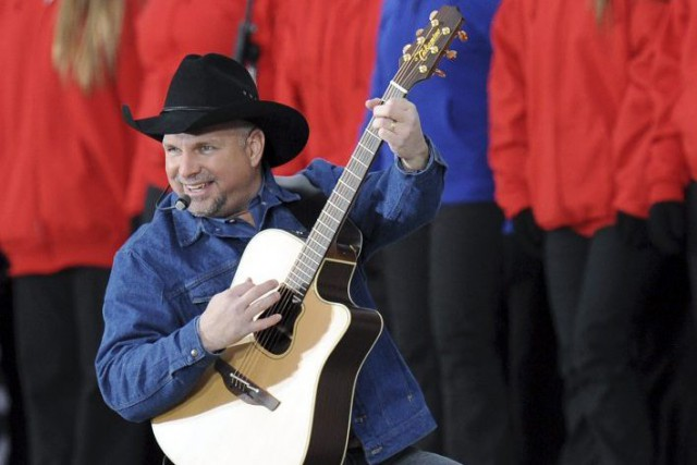 Garth Brooks en janvier 2009.... (Photo: archives AFP)