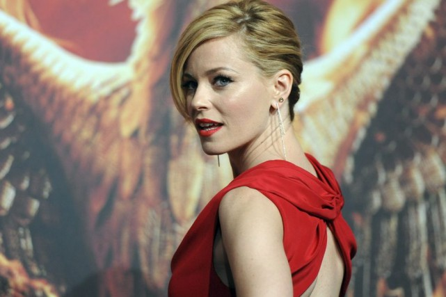 Elizabeth Banks à la première de Hunger Games:... (Photo: archives AFP)