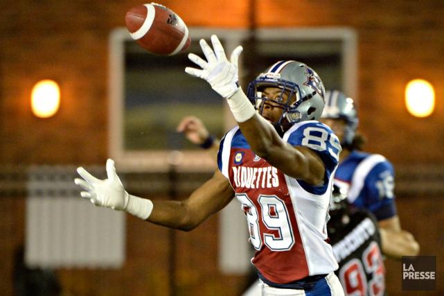 Duron Carter a accepté une offre des Colts... (Photo Bernard Brault, archives La Presse)