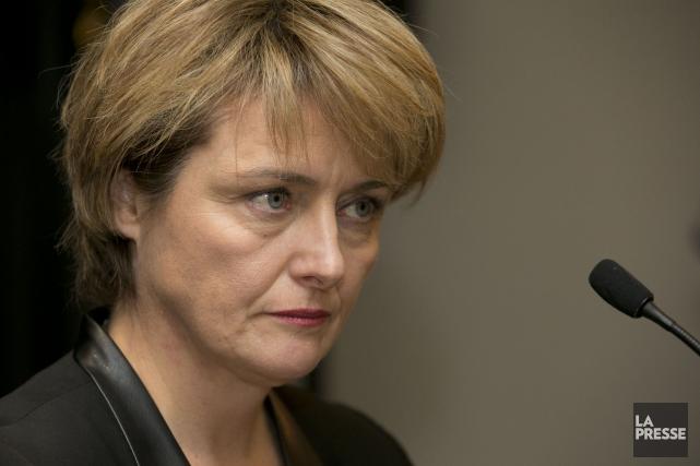 Dominique Poirier devra quitter ses fonctions à la... (PHOTO HUGO-SÉBASTIEN AUBERT, ARCHIVES LA PRESSE)