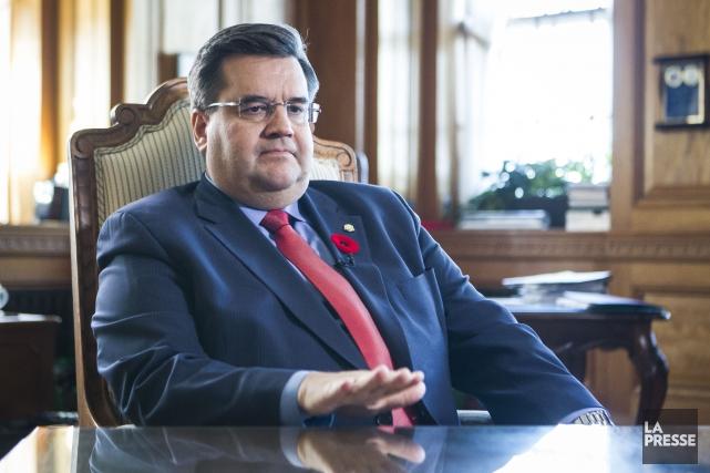 Le maire de Montréal, Denis Coderre.... (PHOTO OLIVIER PONTBRIAND, LA PRESSE)