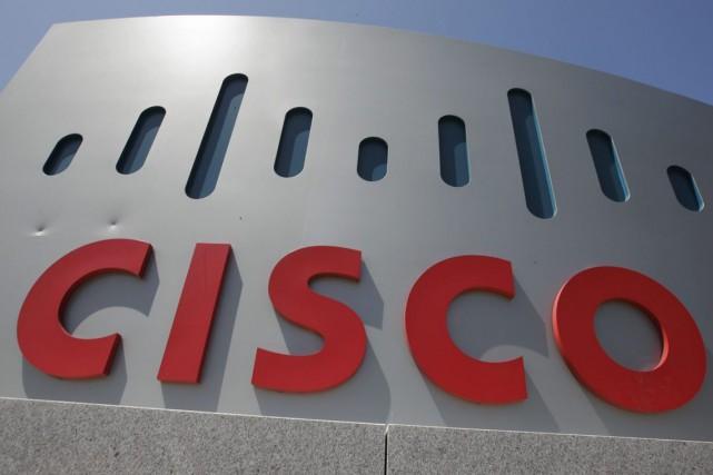 L'équipementier en télécoms américain Cisco a publié mercredi des résultats... (Photo archives AP)