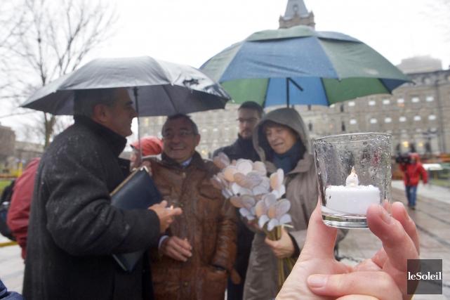 Des acteurs du développement rural québécoisse sont rendus... (Le Soleil, Jean-Marie Villeneuve)