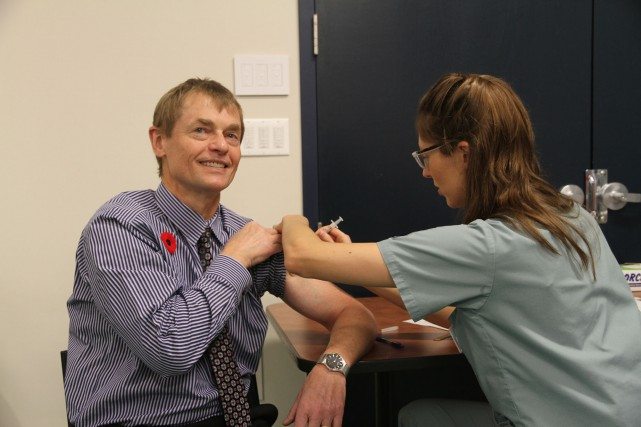 L'administrateur en chef de la santé publique -... (Photo CNW/Santé Canada)