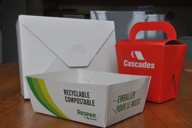 Le nouveau carton d'emballage alimentaire Respak développé dans... ((Archives))