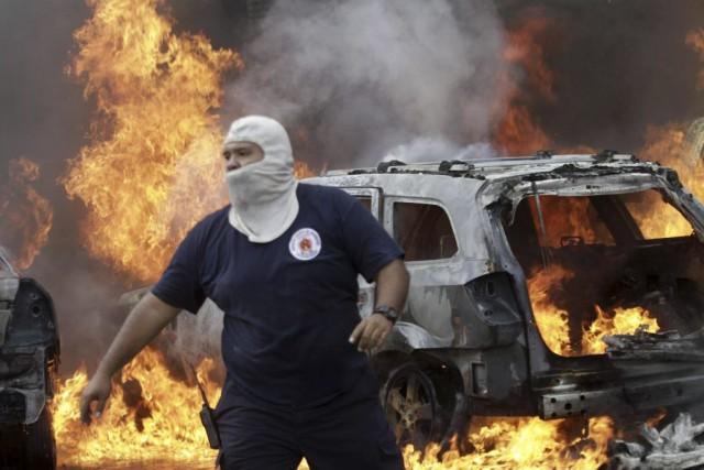 Les protestations autour des 43 disparus prennent un... (Photo: AFP)