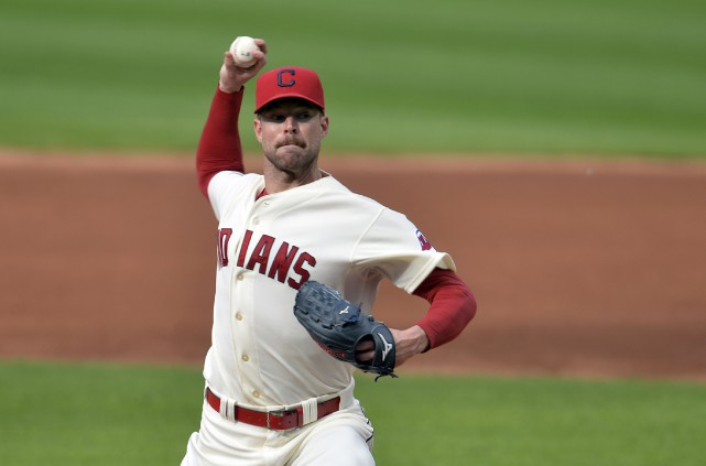 Corey Kluber... (Photo d'archives, Reuters)