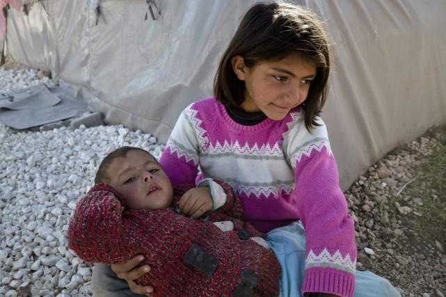 Les Syriens ont des difficultés de plus en plus grandes à trouver un pays... (Photo: AP)