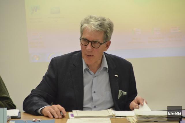 Le président du CSSS La Pommeraie, Michel Lafrance.... (photo archives La Voix de l'Est)