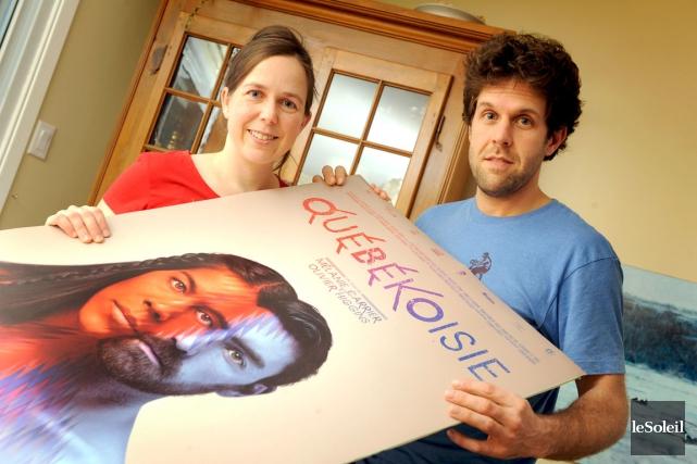Mélanie Carrier et Olivier Higgins de la maison... (Photothèque Le Soleil, Patrice Laroche)