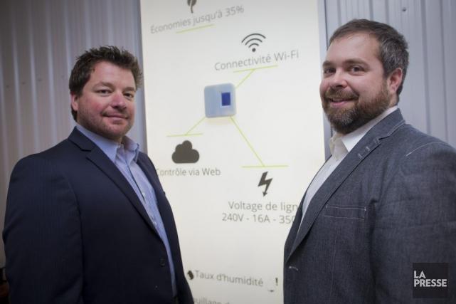 Patrick Pepin et Martin Fassier, cofondateurs deCaSA, ont... (Photo André Pichette, La Presse)