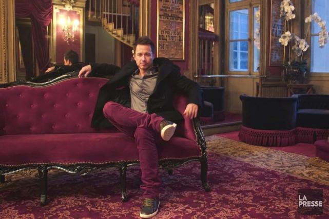 Il lance ce soir à Paris son sixième spectacle solo, intitulé Stéphane Rousseau... (Photo: Émilie Côté, La Presse)