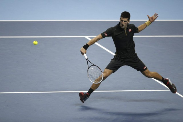 Novak Djokovic... (Agence France-Presse)
