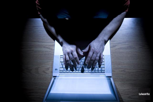 Le comportement déviant de cyberprédateurs comme Simon Fortier va souvent en... (Archives La Voix de l'Est)