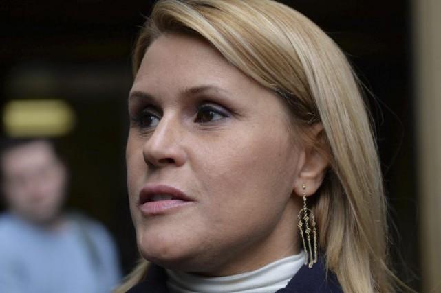 Geneviève Sabourin... (Archives AFP)