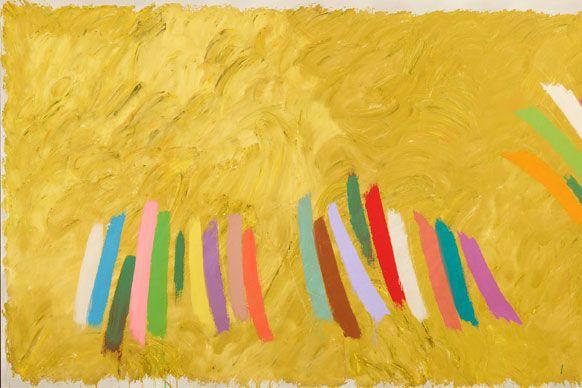 Jack Bush, Chopsticks [Pièce musicale], 1977 © SuccessionJack... (Courtoisie)