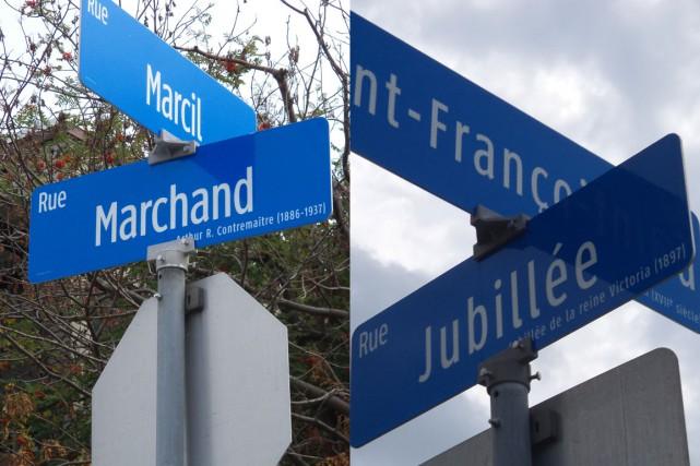 Lorsque le Comité de toponymie de la Ville de Sherbrooke sera reformé, il... (Photos Denis Pellerin)