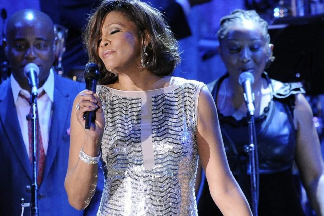 Whitney Houston avait offert une performance lors du... (Archives Associated Press)