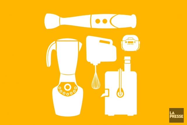 L'industrie des petits appareils de cuisine a le... (Illustration La Presse)