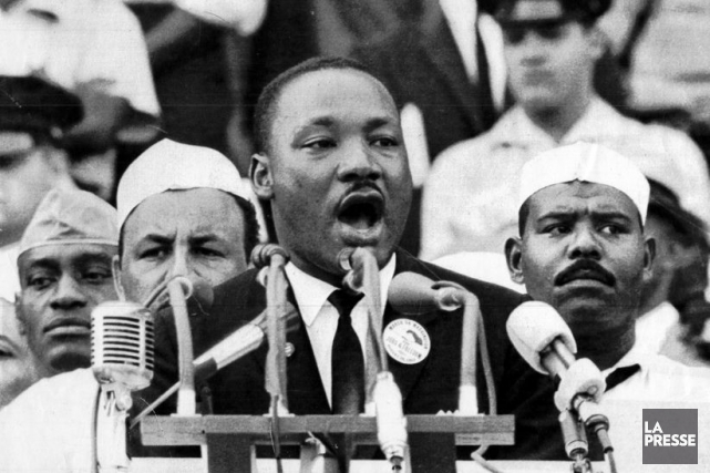 Le révérend Martin Luther King... (PHOTO ARCHIVES LA PRESSE)