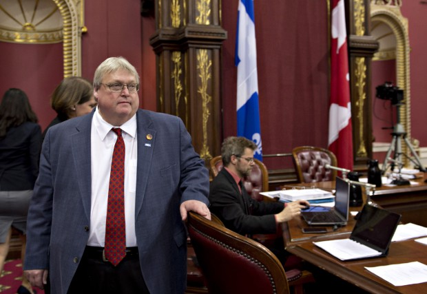 « Le ministre Barrette oublie que ceux qui... (Photo Jacques Boissinot, La Presse Canadienne)